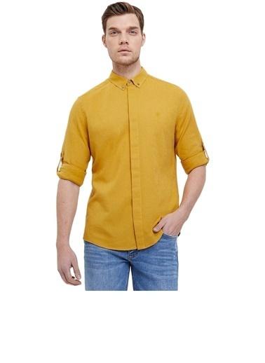 Loft Loft Erkek Gömlek LF2020621 2020621006 Sarı